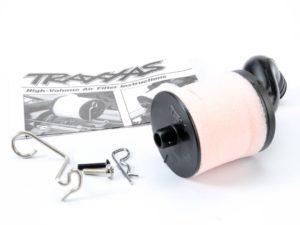 Air filter body (high-volume)/ filter support/ cap/ foam fil