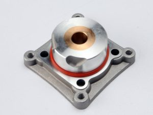 Backplate/ 20x1.4mm O-ring (for engines with starter) (TRX 2