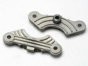Brake pad set (inner and outer calipers with bonded friction