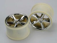 Wheels, Gemini 3.8 (chrome) (2) (also fits Maxx series)