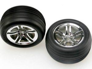 Tires & wheels, assembled, glued (2.8) (Jato Twin-Spoke whee
