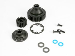 Gears, differential 38-T (1)/ differential drive gear 20-T/