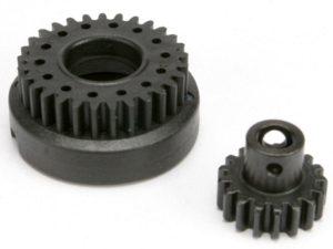 Gear set, two-speed (2nd speed gear, 29T/ input gear, 17T st