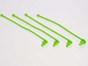 Body clip retainer, green (4)