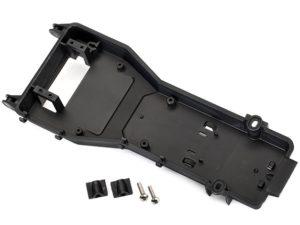 Radio tray/ radio tray retainer (2)/ stuffing tube clamp/ 4x
