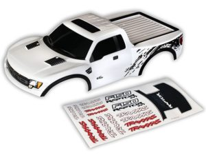 Body, Ford Raptor, White (P   (painted, decals applied)