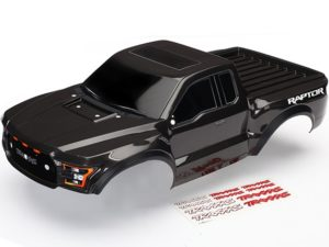 Body, Ford Raptor, black (painted, decals applied) 2017