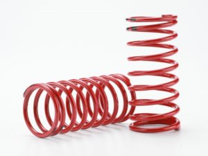 Spring, shock (red) (GTR) (2.0 rate double black stripe)