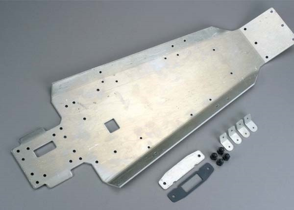 Aluminum chassis/ cover plate/ gasket