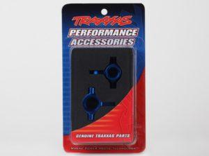 Steering blocks, 6061-T6 aluminum, left & right (blue-anodiz