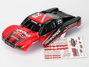 Body, Mark Jenkins 25, 1/16 Slash (painted, decals applied)