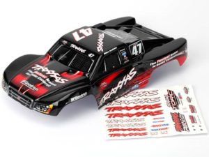 Body, Mike Jenkins 47, 1/16 Slash (painted, decals applied)