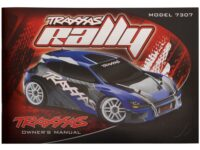 Owners manual, 1/16 Traxxas Rally