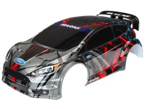 Body, Ford Fiesta ST Rally (painted, decals applied)