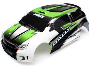 Body, 1/18Th Rally, Green Body, 1/18Th R
