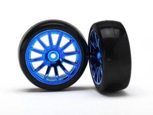 12-Sp Blue Wheels, Slick Tires Tires & W