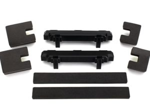 Spacer, battery compartment (2)/ foam blocks (4)/ foam pad (