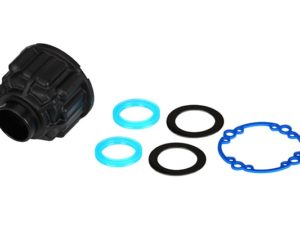 Carrier, differential/ x-ring gaskets (2)/ ring gear gasket/