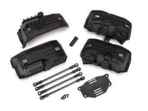 Chassis conversion kit, TRX-4 (long to short wheelbase) (includes rear upper & l