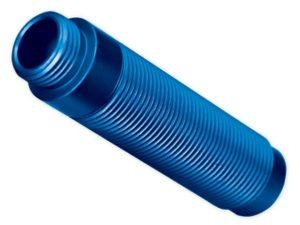 Body, GTS shock, aluminum (blue-anodized) (1)