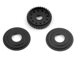 T2'008 Diff Pulley 34T With Labyrinth Dust Covers