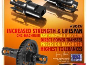 STEEL SOLID AXLE DRIVESHAFT ADAPTERS - HUDY SPRING STEEL? (2