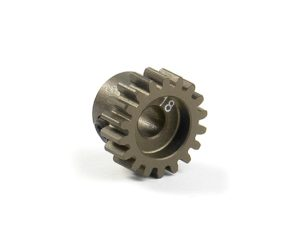 Narrow Pinion Gear Alu Hard Coated 18T : 48