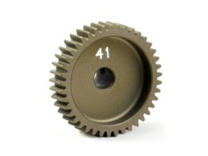 Narrow Pinion Gear Alu Hard Coated 41T / 64