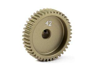 Narrow Pinion Gear Alu Hard Coated 42T / 64