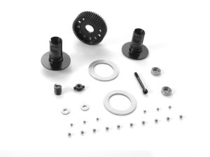 BALL ADJUSTABLE DIFFERENTIAL FOR 2.5MM PIN - SET - HUDY SPRI