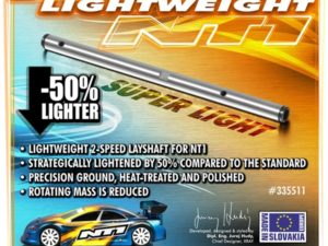 2-Speed Shaft Lightweight
