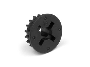 Composite Belt Pulley 18T 2-Speed-Side