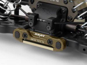 XB808 Alu Front Lower Susp. Holder Front Swiss 7075 T6 (7mm
