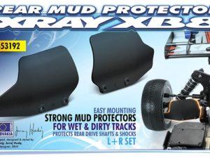Xb8 Composite Rear Mud Protector (L+R)