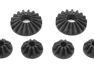 Steel Diff Bevel & Satellite Gears (2+4)