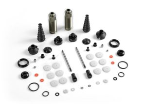 Xb8 Rear Shock Absorbers + Boots Complete Set (2)