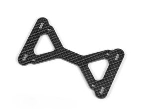 X10'15 GRAPHITE 2.5MM ARM MOUNT PLATE