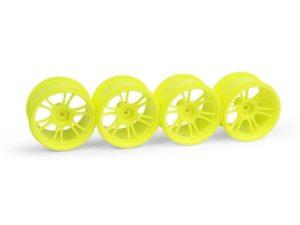 Xray M18MT Starburst Wheels Yellow (4)