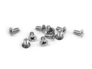 Screw Phillips Fh M2.5X5 Stainless (10)