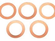 Team Corally - Cilinderkop dichtingsringen 0.2mm Etor 21 3P en Etor 21 5-2P - 5 st