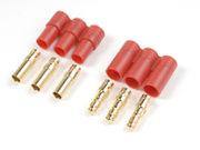 G-Force RC - Connector - 3.5mm - Goudcontacten - 3-pins - Man. + Vrouw. - 1 paar