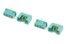 G-Force RC - Connector - MPX - Goudcontacten - Man. + Vrouw. - 2 paar