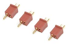 G-Force RC - Connector - Mini Deans - Goudcontacten - 4 st