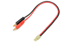 G-Force RC - Laadkabel - Mini Tamiya - 16AWG Siliconen-kabel - 30cm - 1 st