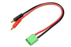 G-Force RC - Laadkabel - CC 6.5 - 12AWG Siliconen-kabel - 30cm - 1 st