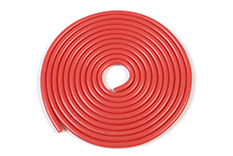 G-Force RC - Siliconen-kabel - Powerflex PRO+ - Rood - 20AWG - 255/0.05 Strengen - OD 1.8mm - 1m