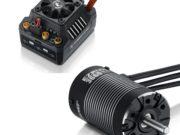 Hobbywing EzRun Combo MAX10 SCT 3660SL, 4600kv, 1/10 Waterpr