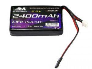 AM Lipo 2400mAh 6.6V For Futaba 4PK/4PX/4PV/7PX
